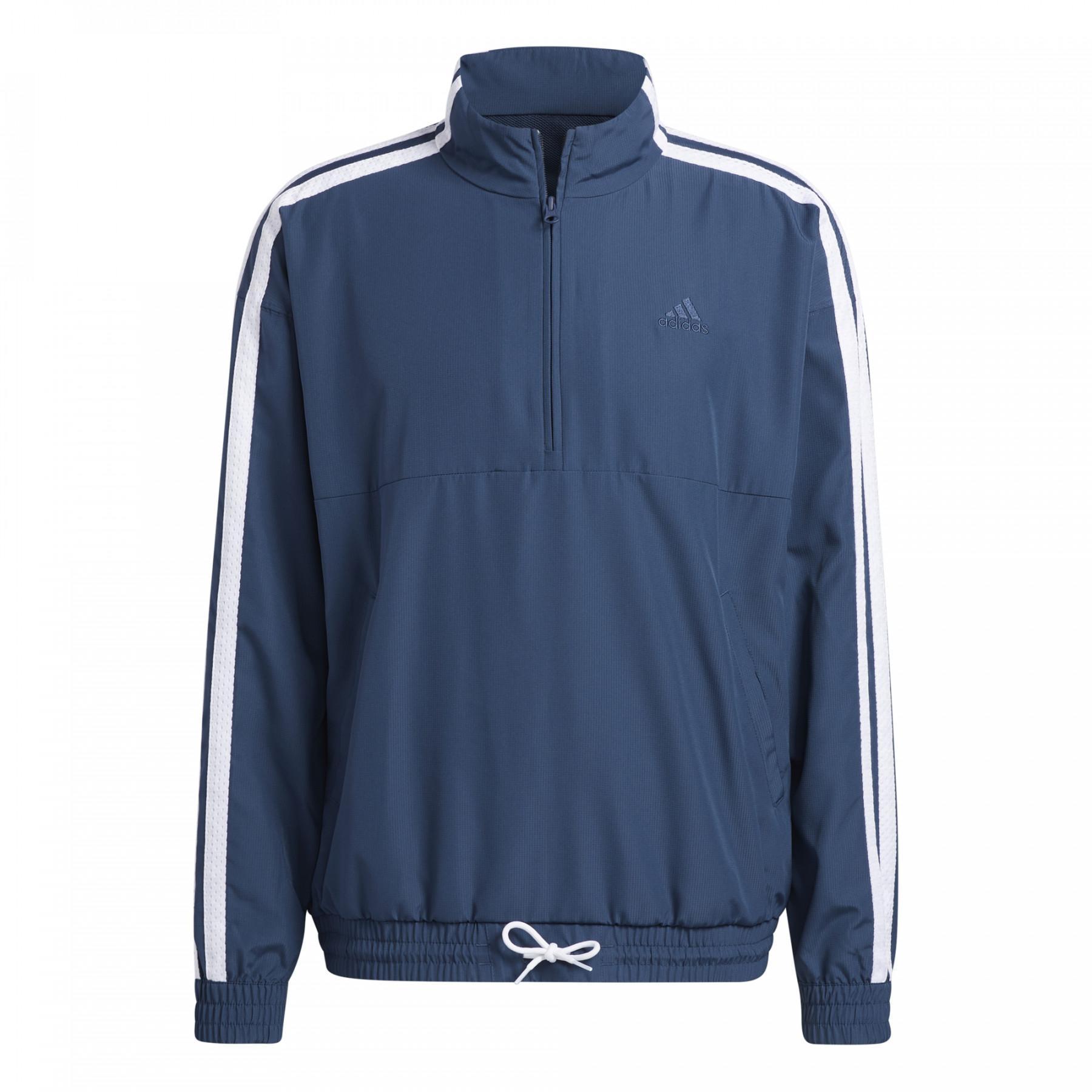 Giacca 1/4 zip adidas Originals SMR LD
