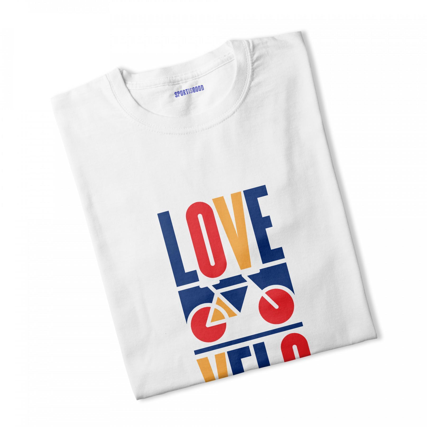 T-shirt ragazzo Love velo