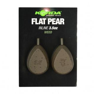 Flatliner Pear Inline Blistered 5oz