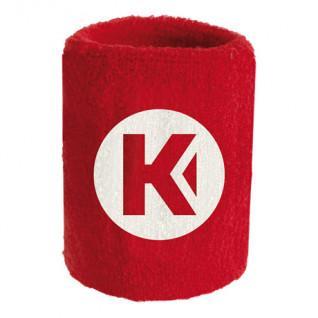 Polso in spugna kempa Core rouge 9 cm (x1)