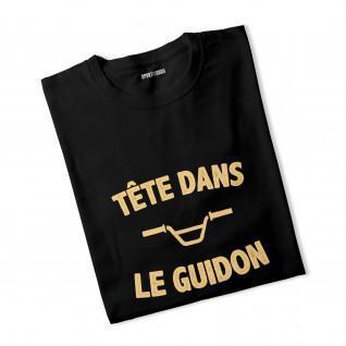 T-shirt ragazzo Tête dans le guidon [Dimensione 7/8anni]